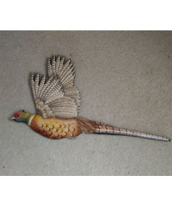 """On The Wing"" Pheasant Wall Plaque"