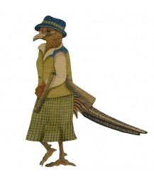 Lady Pheasant Wall Plaque