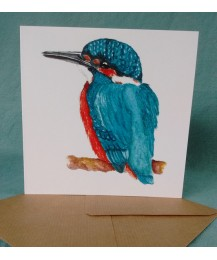 Kingfisher Card