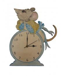 Janice Mouse Clock