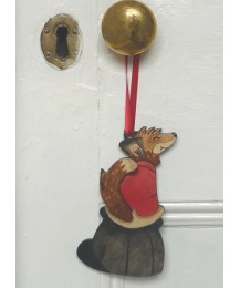 Fox on Hat Door Hanger