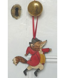 Fox Running Door Hanger