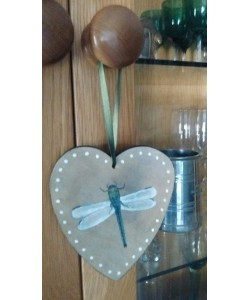 Dragonfly Heart Door Hanger