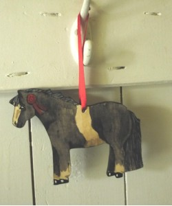 Pony Door Hanger - Various Colours