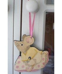 Baby on Cushion Door Hanger