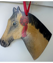 Pony Head Dun Door Hanger