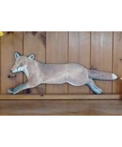 Fox Wall Plaque