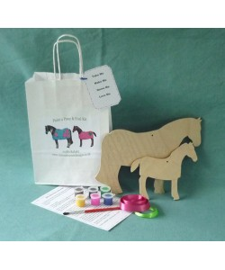 Paint a Pony & Foal Kit