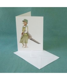 Lady Pheasant Card