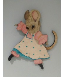 Annie Mouse Wall Plaque