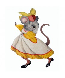 Augusta Mouse Wall Plaque