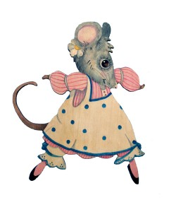 Daisy Mouse with Name Plaque