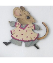 Jemima Mouse Wall Plaque