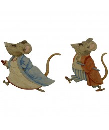Marigold and Humphrey Wall Plaques