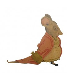 Matilda Mouse Wall Plaque