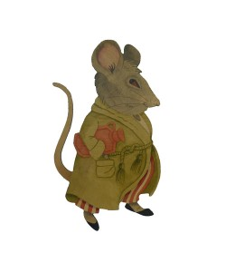 Maurice Mouse Wall Plaque