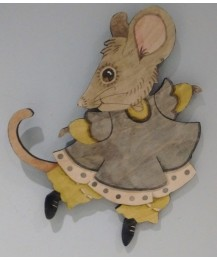 Vera Mouse Wall Plaque