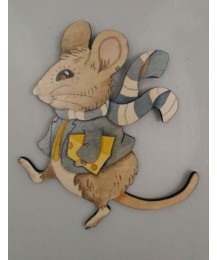 Archie Mouse Wall Plaque
