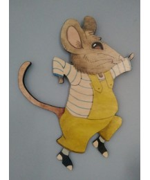 Cecil Mouse Wall Plaque