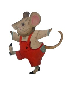 Jimmy Mouse Wall Plaque
