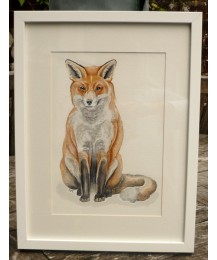 Fox Original Watercolour