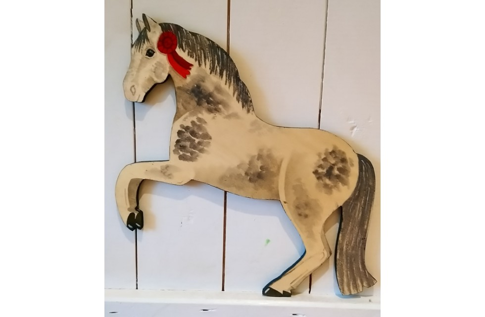Pony Wall Plaque