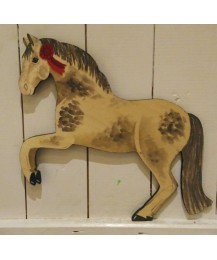 Rearing Pony Wall Plaque