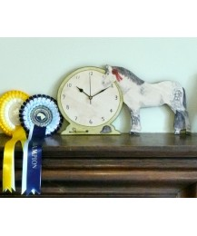 Personalised Pony Clock