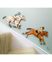 Polo Wall Plaque Set