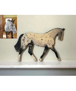 Personalised Pony Wall Plaque - Show