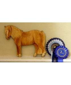 Personalised Pony Wall Plaque - Shetland