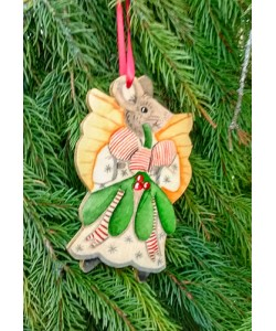 Christmas Angel Mouse Tree Hanger