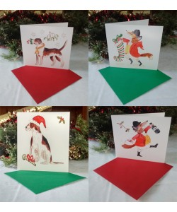 Fox & Hound Christmas Card Mixed Pack