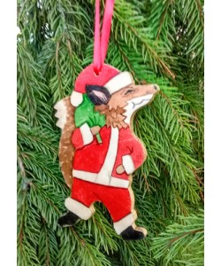 Christmas Fox Tree Hanger
