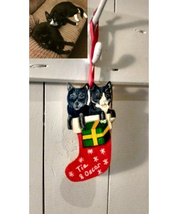 Christmas Personalised Cat Tree Hanger