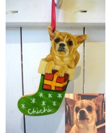 Christmas Personalised Dog Tree Hanger