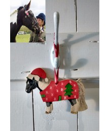 Christmas Personalised Pony Tree Hanger