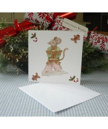 Christmas Gingerbread Card