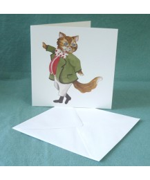 Fat Cat Tom Card