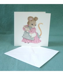 Mother Mouse Card